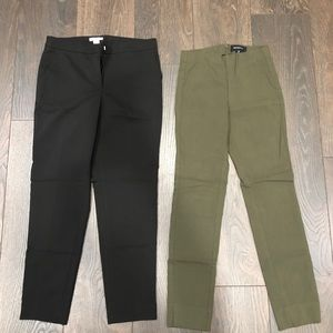 H & M and Who What Wear pant bundle